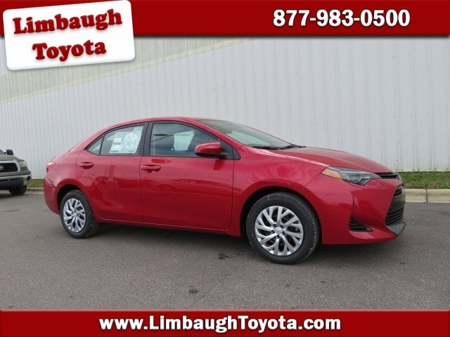 New 2019 Toyota Corolla Le 4dr Car In Birmingham 206207 Limbaugh